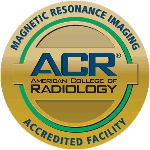 ACR Accredited Facility - MRI